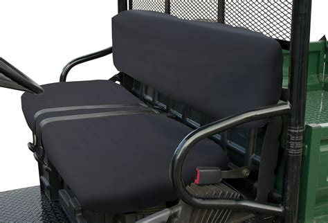 utv bench seat quad ex utv bench seat covers polaris black lawn
