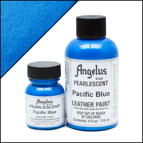 angelus paint retailers pearlescent leather paint pacific blue turtle feathers