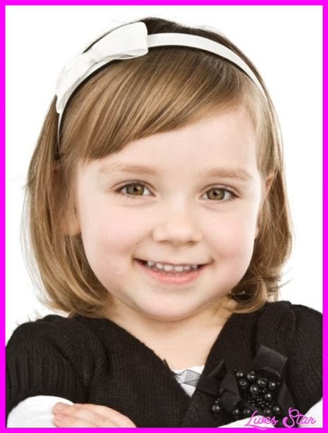 haircuts for girls with thin hair 4 years old cute short haircut for little girls livesstar com