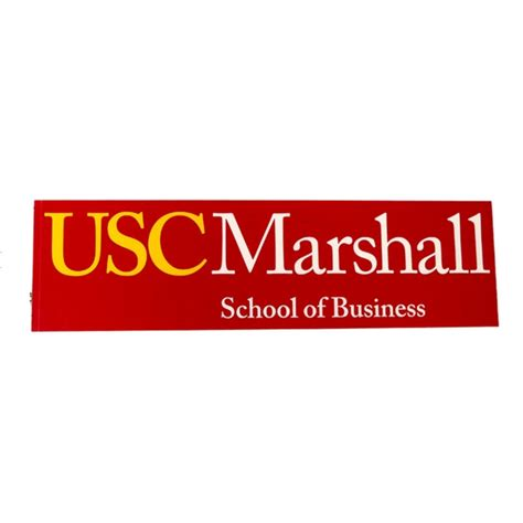 Marshall Business School Mba by Usc Marshall School Of Business Decal