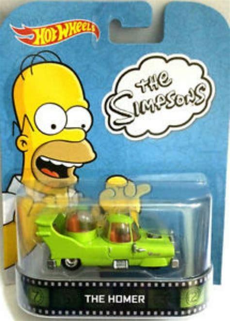 wheels retro the simpsons the homer 199 00 en mercado libre