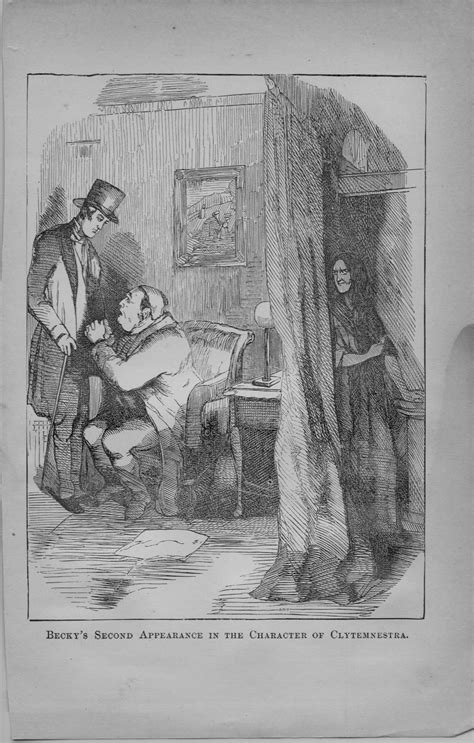 Vanity Fair Illustrations by The Universe Of Discourse Thackeray S Illustrations For