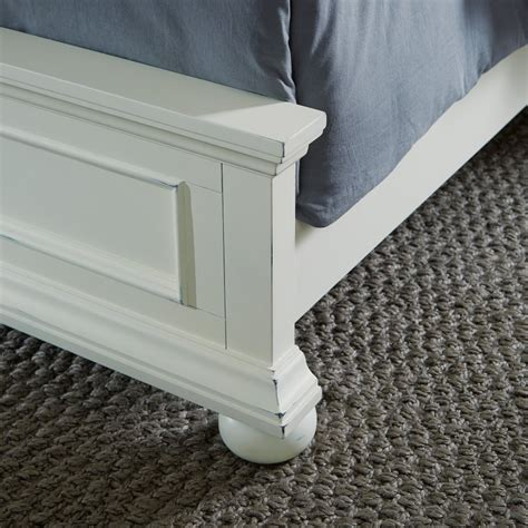 dover bed dover king bed night stand dresser and mirror home styles