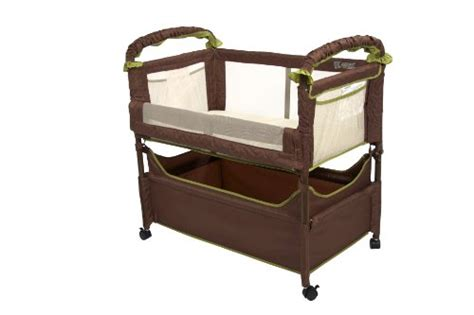 Clear Vue Co Sleeper by Arm S Reach Concepts Clear Vue Co Sleeper Cocoa Fern