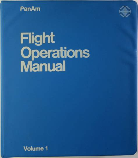 the student pilot s flight manual from flight to pilot certificate kershner flight manual series books flight operations manual pan american world airways