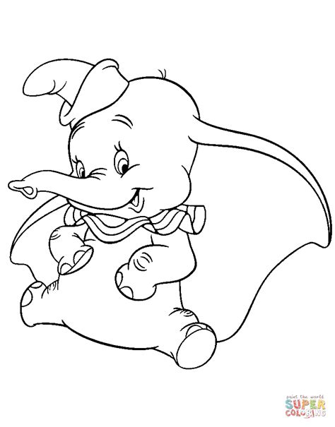 dumbo coloring pages lovely dumbo coloring page free printable coloring pages