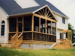 Screened Porch Plans by Screened Porch Plans Ideas Vissbiz