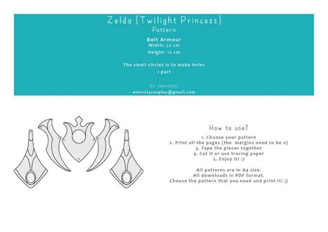 zelda belt pattern zelda twilight princess belt armor pattern cosplay amino