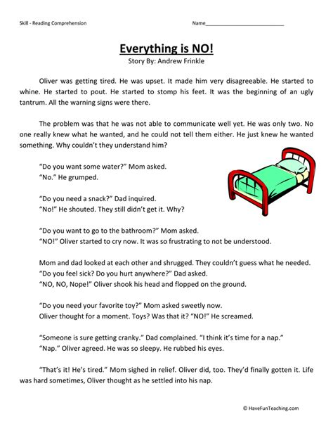 reading comprehension test practice 3rd grade third grade test practice page 3 of 9 have fun teaching