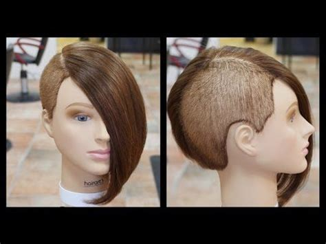 man in salon wants a womens bob haircut and his ears pierced 106 best images about hair on pinterest pompadour fade