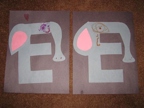letter e crafts for quot e quot is for elephant letter quot e quot activities for