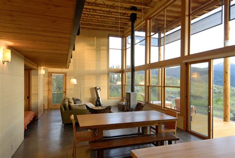 modern cabin rustic exterior seattle by johnston architects modern cabin rustic dining room seattle by