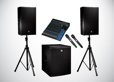 sound system rental in kl – creative branding and