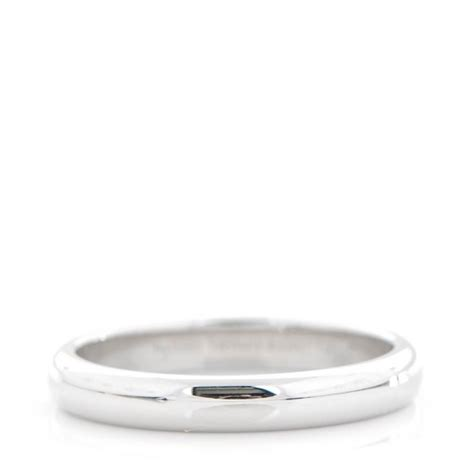 Sunglass Fendi Lucida co platinum 3mm lucida band ring 6 5 153966