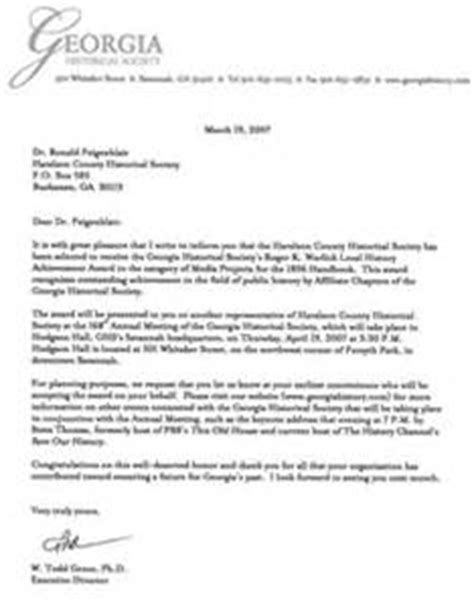 Award Nomination Letter Leadership Sle Nomination Letter For Award Letter Of Recommendation