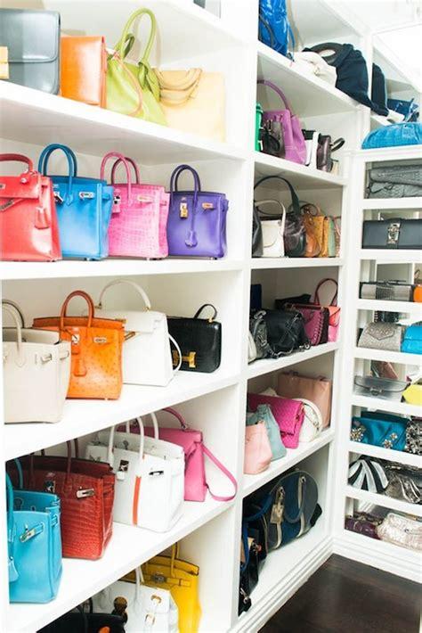Handbag Closet Storage by Handbag Closet Closet The Coveteur