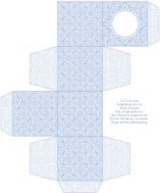 lace pattern free box templates to print for gift boxes