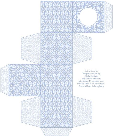 printable templates for gift boxes lace pattern free box templates to print for gift boxes