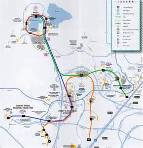 Disney World Transportation Map by Mass Transit Magic Nyc Wdw New Disney Monorail Design