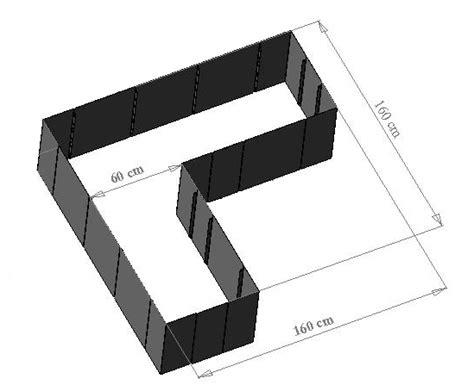 moderne hochbeete garten im quadrat hochbeet in l form quot corner 160