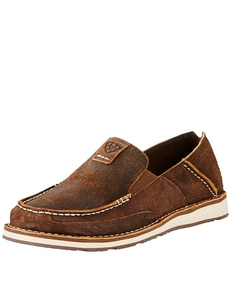 ariat s cruiser 3 quot slip on shoes oak