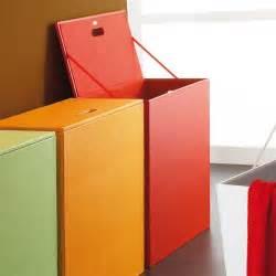 magnifique panier 224 linge color 233 gain de place pour salle