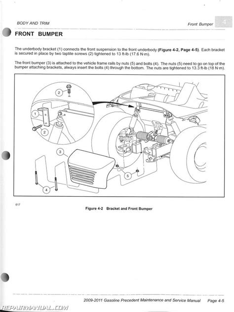 electric club car precedent wiring diagram 2006 wiring