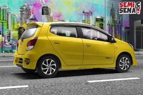 Karpet Mobil Toyota Agya harga toyota agya 2017 review spesifikasi gambar