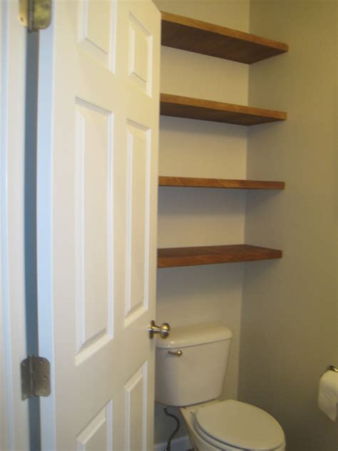 floating shelves for bathroom designed to dwell adding storage in a tiny bathroom