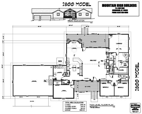 custom mountain home floor plans floor plans custom home building from mountain high builders