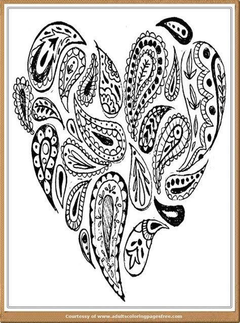 advanced valentine coloring pages valentine romance coloring pages for adults mandala