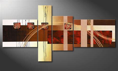quadri da soggiorno golden ways 160x80cm quadro da soggiorno quadri