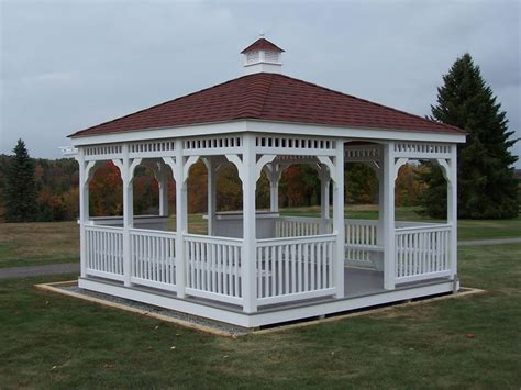pvc gazebo vinyl gazebos pennsylvania and west virginia