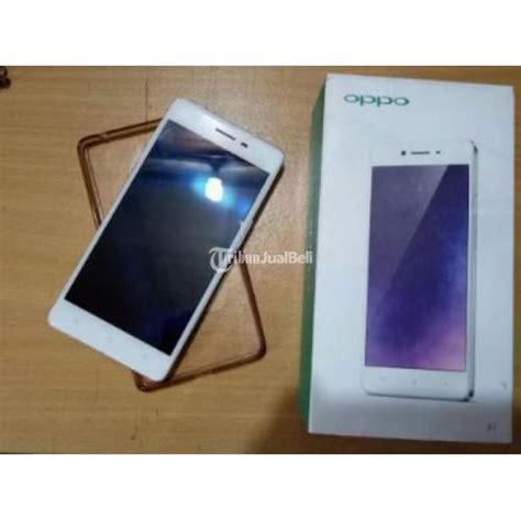 Handphone Oppo Bandung oppo r7f second ram 3gb dual sim 4g lte warna silver harga