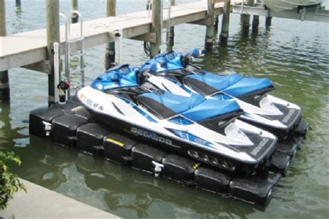 used sea doo boat lifts for sale floating boat docks boat lifts jet ski lifts jetdock