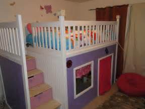 playhouse bed white custom playhouse bunkbed diy projects