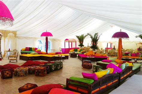 Moroccan Dining Room colourful indian wedding marquee marquee hire enfield