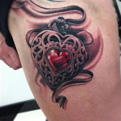 13 awesome gothic heart tattoos