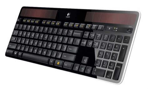 Solar Powered Keyboard by The Logitech Wireless Solar Powered Keyboard Eco