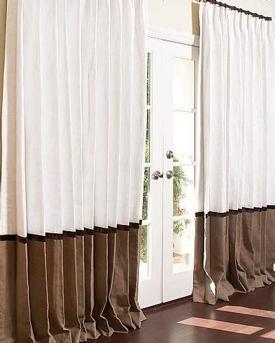 linen curtains sale window treatments signature collection bordered linen