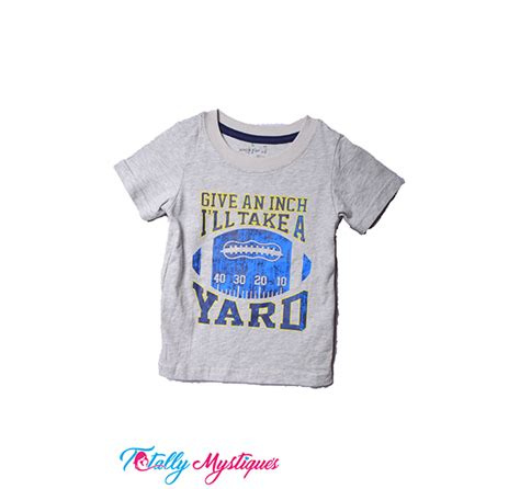Jumping Beans 22 Sz 18m 6t jumping beans give an inch i ll take a yard t shirt for