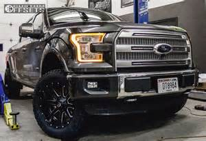 Ford Truck Aftermarket Wheels Wheel Offset 2016 Ford F 150 Slightly Aggressive Leveling
