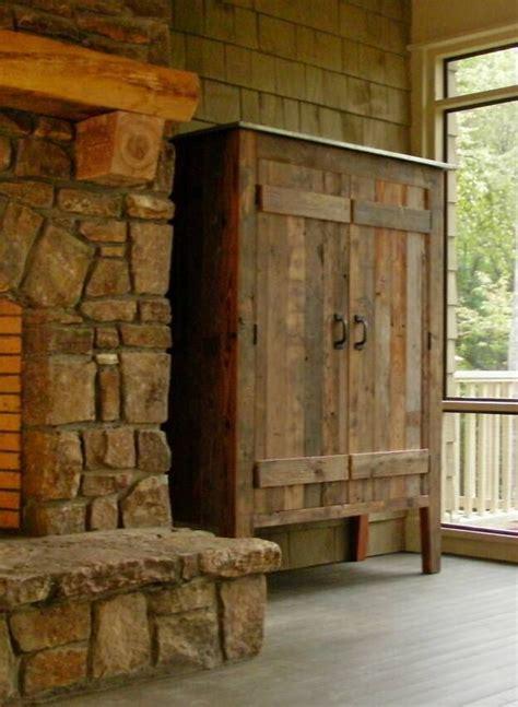 handmade rustic dvd cabinets  shelves rustic  wood