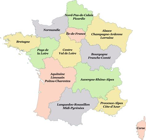 resolusion 024 de 2016 dian fichier r 233 gions de france 2016 svg wikigenweb
