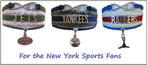 gifts for jets fans new york sports bracelet 3 pack gift special ny jets