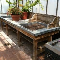 greenhouse potting bench best 10 potting benches ideas on pinterest potting