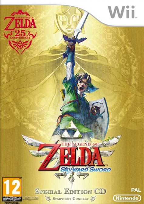 imagenes epicas de zelda car 225 tula oficial de the legend of zelda skyward sword