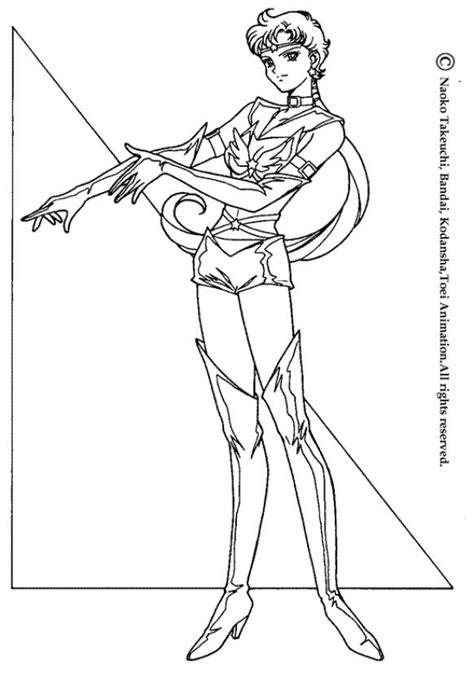 Coloriage SAILOR MOON - Coloriage d'une guerrière