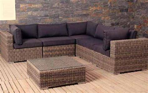 divani da terrazzo costo degli arredamenti da terrazzo in rattan