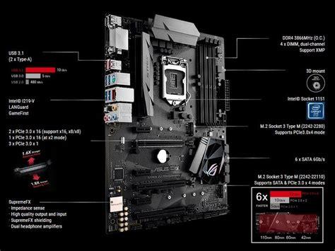 Sale Asus Rog Strix Z270h Gaming Socket 1151 asus rog strix z270h gaming motherboard techbuy australia
